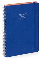 Nava 2015 Diary Ringbound Daily Medium Blue Den Im - Artemio Croatto