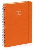 Nava 2015 Diary Ringbound Daily Small Orange - Artemio Croatto