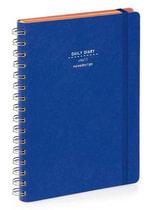 Nava 2015 Diary Ringbound Daily Small Blue Denim - Artemio Croatto