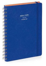 Nava 2015 Diary Ringbound Weekly Medium Blue Den Im - Artemio Croatto