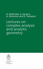Lectures on Complex Analysis and Analytic Geometry : v. 3 - G. Della Sala