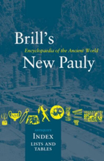 Brill's New Pauly, Antiquity, Index : Encyclopaedia of the Ancient World