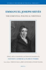 Emmanuel Joseph Sieyes : The Essential Political Writings