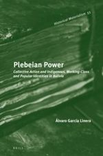 Plebeian Power : Collective Action and Indigenous, Working-Class and Popular Identities in Bolivia - Alvaro Garcia Linera