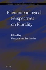 Phenomenological Perspectives on Plurality