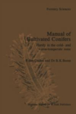 Manual of Cultivated Conifers : Hardy in the Cold and Warm Temperature Zone - P.Den Ouden