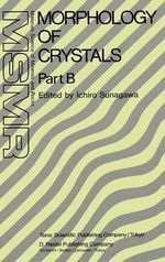 Morphology of Crystals : Materials Science of Minerals and Rocks (Closed)