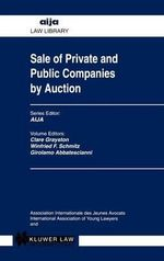 Sale of Private and Public Companies by Auction