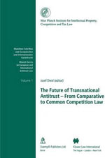 Future of Transnational Antitrust : From Comparative to Common Competition Law :  From Comparative to Common Competition Law