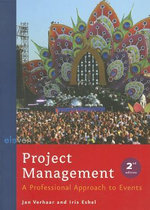 Project Management : A Professional Approach to Events - Jan Verhaar