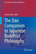 Dao Companion to Japanese Buddhist Philosophy