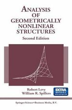 Analysis of Geometrically Nonlinear Structures - Robert Levy