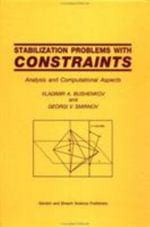 Stabilization Problems with Constraints : Analysis and Computational Aspects - Vladimir A. Bushenkov