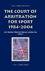 The Court of Arbitration for Sport : 1984-2004