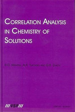 Correlation Analysis in Chemistry of Solutions - R.G. Makitra