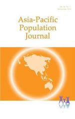 Asia-Pacific Population Journal, 2014 : Volume 29 - Economic & Social Commission for Asia & the Pacific
