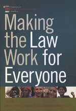 Making the Law Work for Everyone : Report of the Commission on Legal Empowerment of the Poor v. 1 - Commission on Legal Empowerment of the Poor