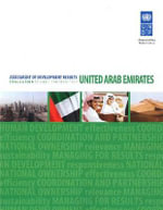 Assessment of Development Results : United Arab Emirates - Evaluation of UNDP Contribution - United Nations Development Programme