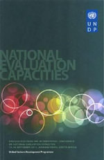 Proceedings from the International Conference on National Evaluation Capacities: Volume 2 : 12-14 September 2011, Johannesburg, South Africa - United Nations