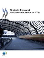 Transcontinental Infrastructure Needs to 2030/2050 : Considerations & Developments -- Volume 3 - OECD: Organisation for Economic Co-operation and Development