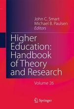 Higher Education : Handbook of Theory and Research
