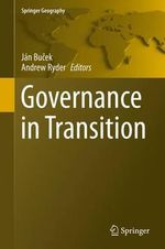 Governance in Transition : Springer Geography