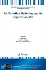 Air Pollution Modeling and Its Application XXII
