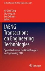 IAENG Transactions on Engineering Technologies : with Applications in Systems Biology