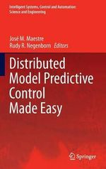 Distributed Model Predictive Control Made Easy : Modeling & Computation