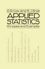 Applied Statistics : Principles and Examples - David Cox
