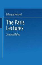 The Paris Lectures - Edmund Husserl