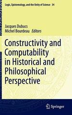 Constructivity and Computability in Historical and Philosophical Perspective