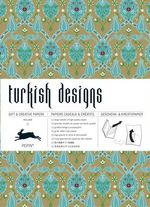 Turkish Designs : Gift Wrapping Paper Book Vol. 02 - Pepin van Roojen
