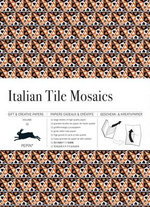 Italian Tile Mosaics : Gift & Creative Paper Book Vol. 33 - Pepin van Roojen