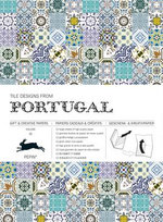 Tile Designs from Portugal : Gift & Creative Paper Book Vol. 56 - Pepin van Roojen