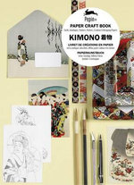 Kimono : Paper Craft Book with Cards, Envelopes, Stickers, Posters, Creative and Wrapping Papers - Pepin Van Roojen