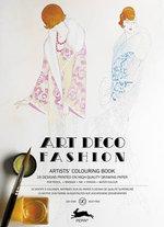 Art Deco Fashion : Artistscolouring Book - Pepin Van Roojen