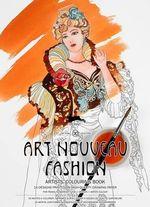 Art Nouveau Fashion : Artists' Colouring Book - Pepin van Roojen