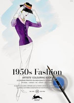 1950s Fashion : Artists' Colouring Book - Pepin van Roojen