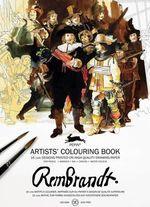 Rembrandt : Artists' Colouring Book - Pepin van Roojen