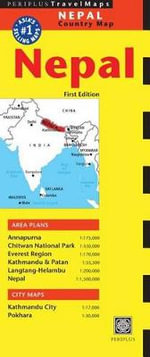 Nepal Travel Map : Periplus Maps - Periplus Editions