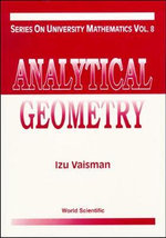 Analytical Geometry : Series on University Mathematics - Izu Vaisman