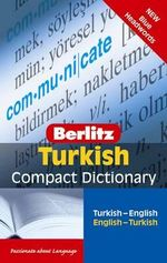 Berlitz Language : Turkish Compact Dictionary - Berlitz