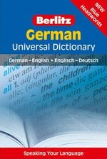 Berlitz : German Universal Dictionary - Berlitz Publishing