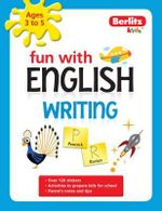 Berlitz Language : Fun with English: Writing (3-5 Years) - Berlitz Publishing