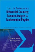 Topics in Contemporary Differential Geometry, Complex Analysis and Mathematical Physics : Proceedings of the 8th International Workshop on Complex Structures and Vector Fields
