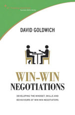 STTS : Win-Win Negotiation - David Goldwich Goldwich