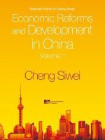 Economic Reforms and Development in China : v. 1 - Siwei Cheng