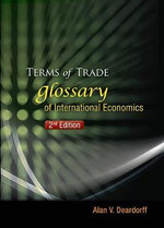 Terms of Trade : Glossary of International Economics - Alan V. Deardorff