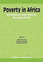 Poverty in Africa : Analytical and Policy Perspectives